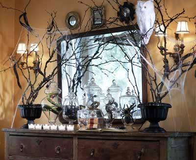 Украшения дома на Хэллоуин (9)