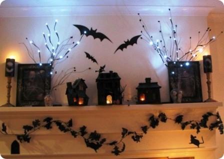 Украшения дома на Хэллоуин (11)