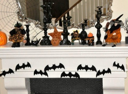Украшения дома на Хэллоуин (12)