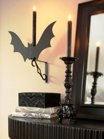 Украшения дома на Хэллоуин99