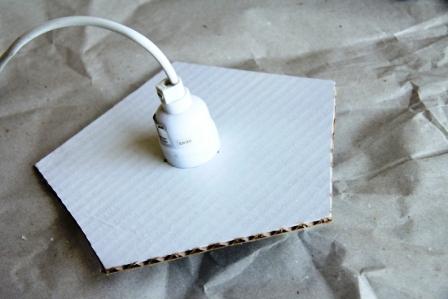 Светильник из коробки (6)