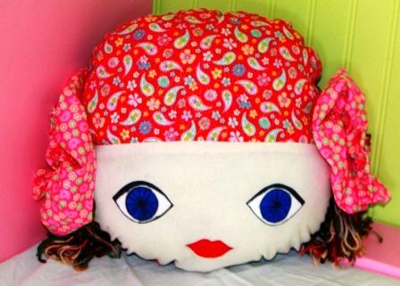 Кукла - подушка