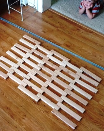 Деревянный коврик (14)