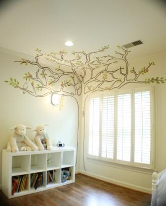 Идеи декора для детской комнаты91