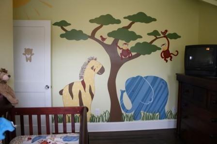 Идеи декора для детской комнаты9993