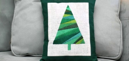 Новогодние подушки своими руками (4)