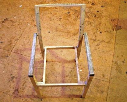 Как сделать из стула кресло Дача своими руками
