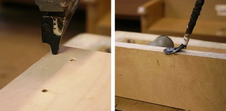 Как сделать из стула кресло (4)