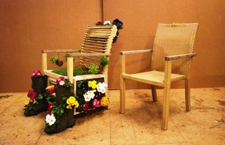Как сделать из стула кресло (24)