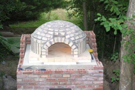 Печка для пиццы видео