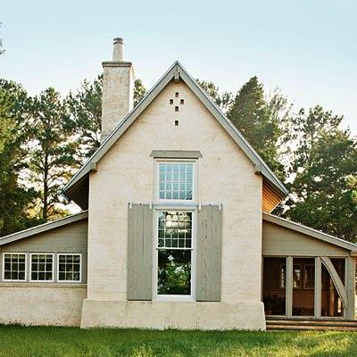 Загородный деревянный дом (1)