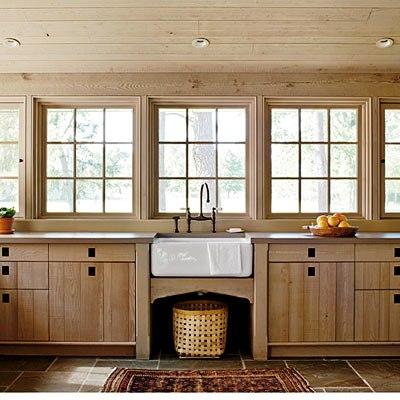загородный дом кухня