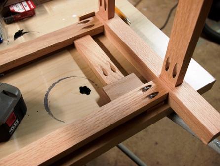 Как сделать плетеный стул (5)