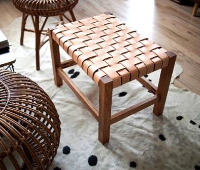 Как сделать плетеный стул (10)