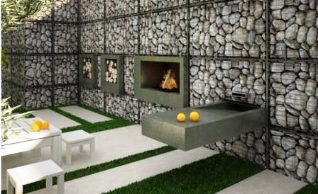 Габионы в ландшафтном дизайне (4)