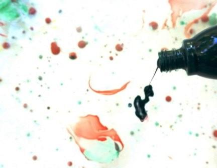 Картина под мрамор своими руками (3)