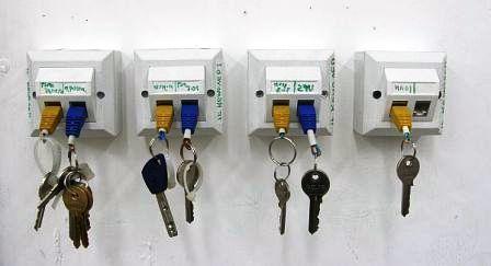 Вешалка для ключей своими руками4