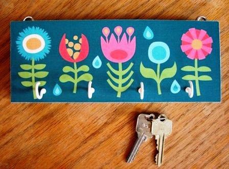 Вешалка для ключей своими руками (7)