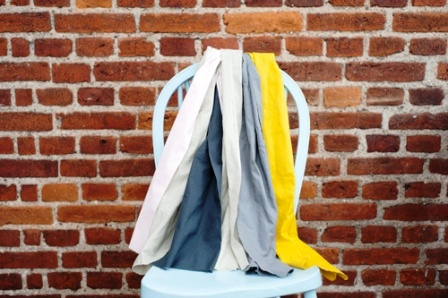 Как связать коврик на стул (22)