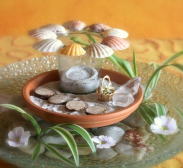 Декоративная композиция - лето (4)