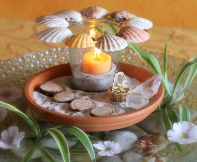 Декоративная композиция - лето (6)