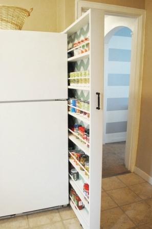 Как сделать выдвижной шкаф (4)