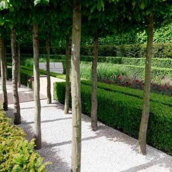 насыпные садовые дорожки