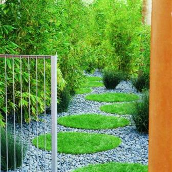 необычные дорожки в саду