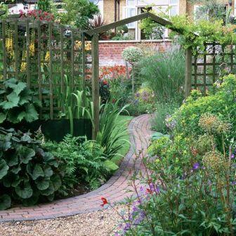 садовые дорожки из плитки