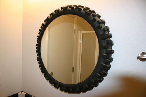 зеркало из шины