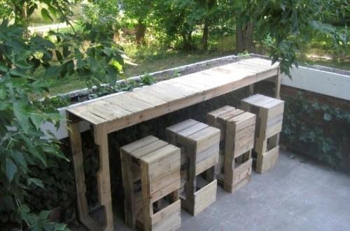 мебель из паллет 36