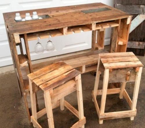 мебель из паллет 42