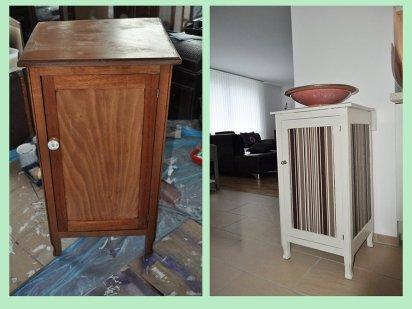 Как переделать старую мебель.