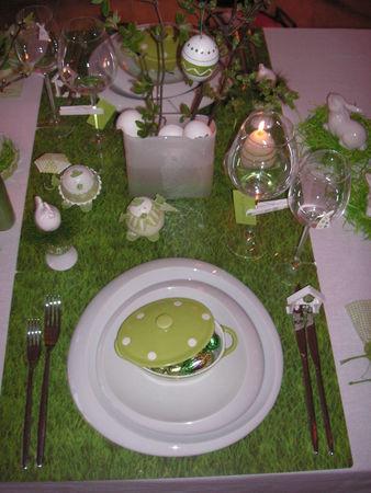 декор пасхального стола