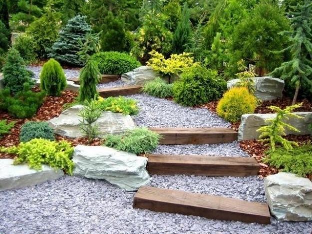 как сделать красивый сад