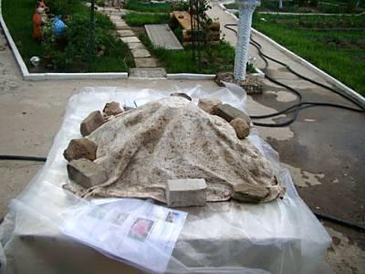 лист из бетона