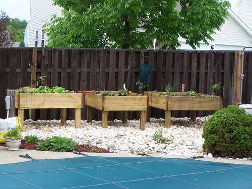 Планировка сада и огорода