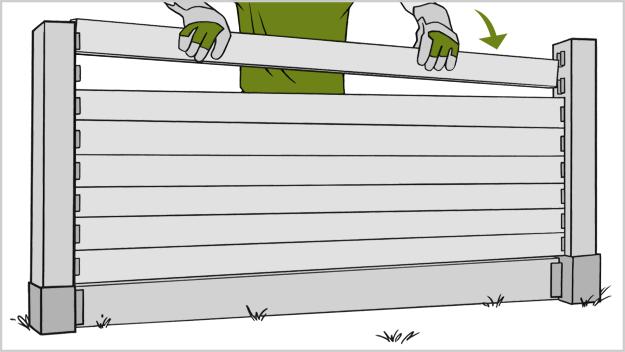 Как сделать забор своими руками
