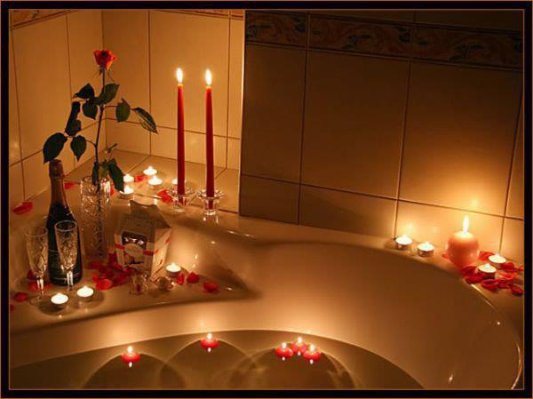 Романтические свечи