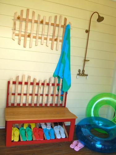 Дачный летний душ - Гениальные идеи