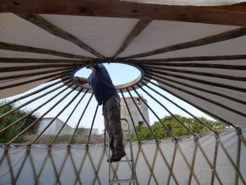 Палатка домик - необычный тент (8)