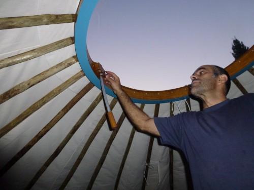 Палатка домик - необычный тент (6)