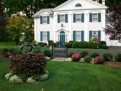 Дизайн входа в дом - 12 идеи для оформления сада (7)