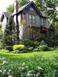 Дизайн входа в дом - 12 идеи для оформления сада (10)