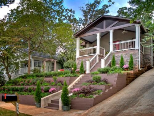 Дизайн входа в дом - 12 идеи для оформления сада (4)