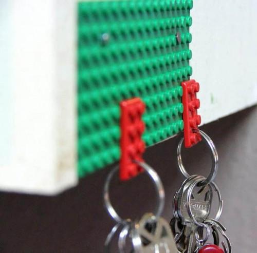 Брелок для деталей Лего