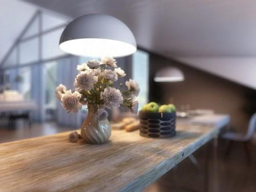 дизайн интерьера загородного дома   (8)