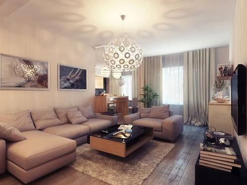 дизайн интерьера загородного дома   (7)