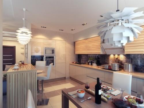 дизайн интерьера загородного дома   (5)