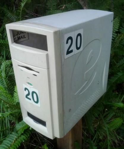 Идея для почтового ящика